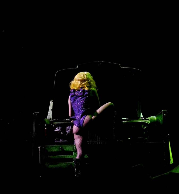 Lady Gaga Performing at the Birmingham LG Arena
