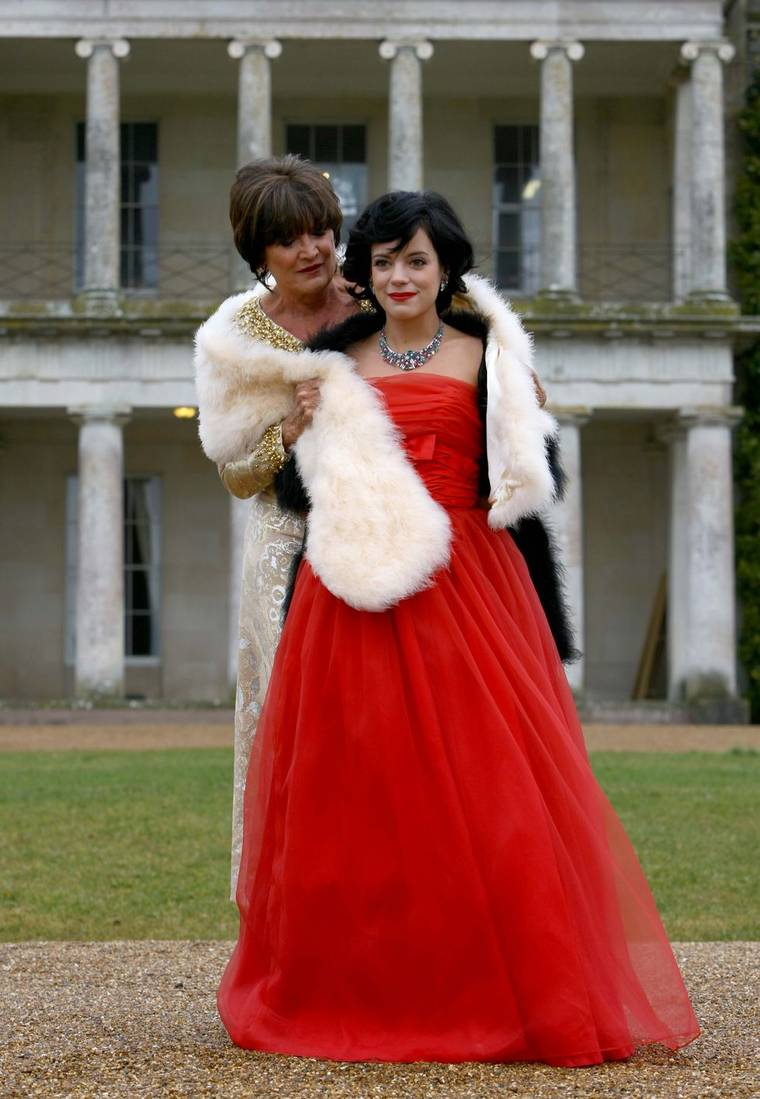 Lily Allen - at Goodwood Estate Photoshoot