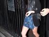 Lindsay Lohan at Bardot Lounge in West Hollywood