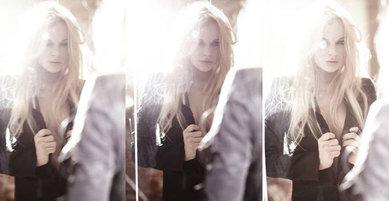 Lindsay Lohan in Frederic Pinet Photoshoot