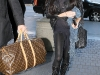Lindsay Lohan in Glitters Leggins out in London