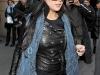 Lindsay Lohan in Tight Leggings out in Paris