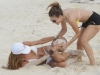 Maria Menounos and Kelly Bensimon - bikini in the bahamas