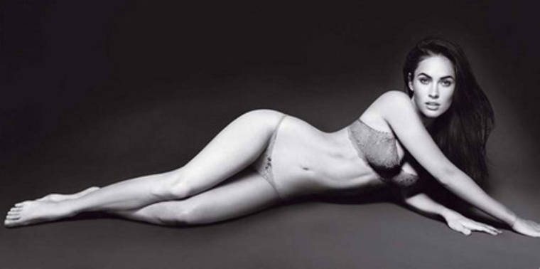 Megan Fox at Armani photoshoot