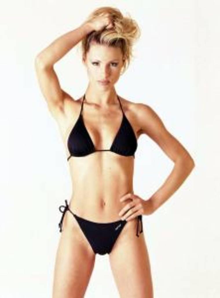 Michelle Hunziker - Bikini Photoshoot