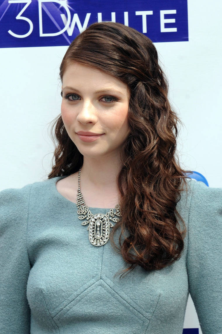Michelle Trachtenberg Crest 3D White Collection launch in NYC