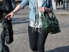 Michelle Trachtenberg out and about in SoHo