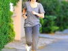 Miley Cyrus - jog in Toluca Lake