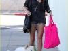 Miley Cyrus - Leggy Candids In Shorts in Santa Monica