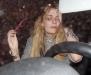 Mischa Barton at H.Wood nightclub in Hollywood