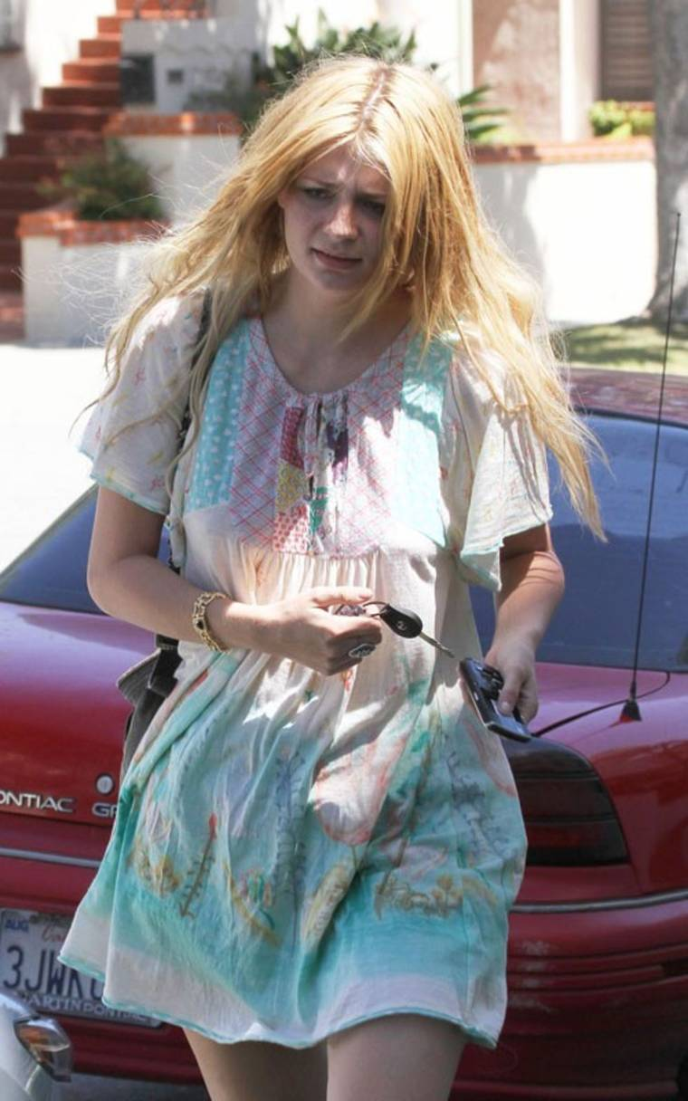 Mischa Barton out in Beverly Hills candids