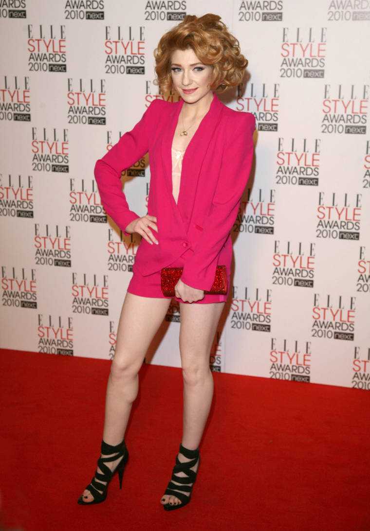 Nicola Roberts at ELLE Style Awards 2010