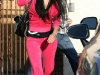Nicole Scherzinger in pink tracksuit