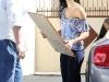 Nicole Scherzinger living DWTS studio in LA