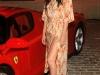 Olivia Munn at Ferrari 458 auction to benefit Haiti