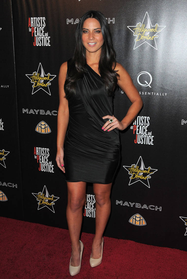 Olivia Munn at Hollywood Domino's 3rd Annual Pre-Oscar Pary