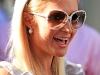 Paris Hilton at The Ivy Restaurant in LA