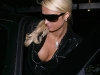 Paris Hilton cleavy out in West Hollywood