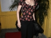 Rose McGowan at Dan Tana's Restaurant