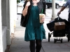 Sarah Michelle Gellar at Starbucks in Beverly Hills