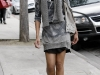 Zoe Saldana at Kaminski auction house in Beverly Hills