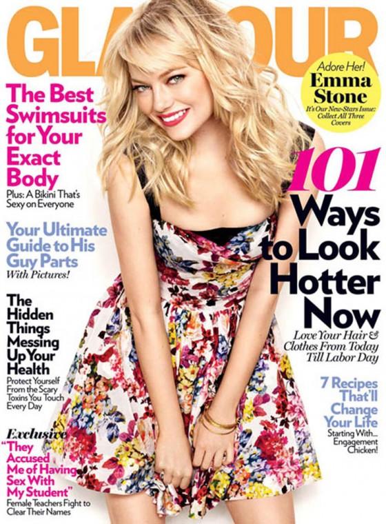 Emma Stone - Glamour Magazine Photoshoot (May 2011)