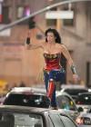 Adrianne Palicki - On the set of Wonder Woman in LA