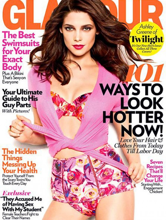 Ashley Greene - Glamour US Magazine (May 2011)