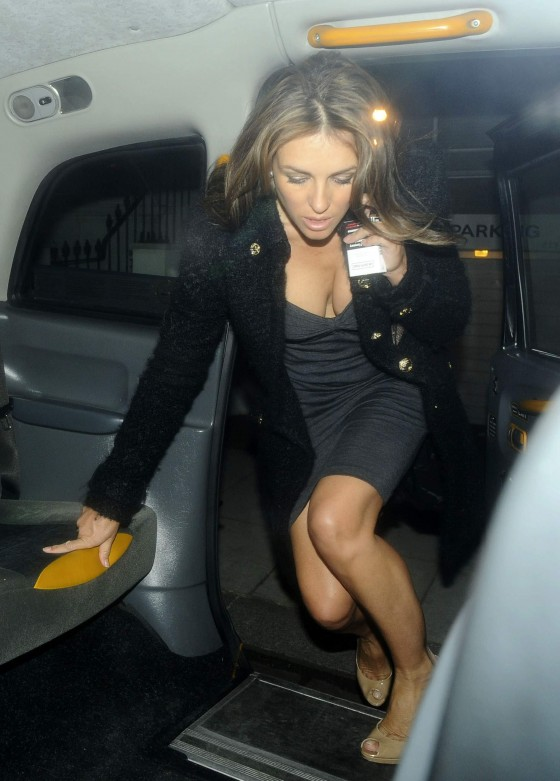 Elizabeth Hurley All Kinds of Filthy Hot at Forty-Five