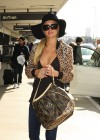 Paris Hilton - Cleavage Candids at LAX