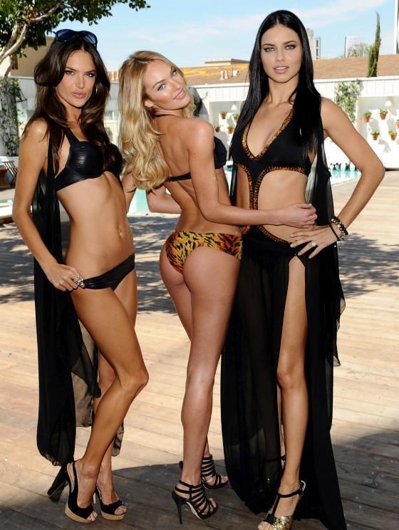 Victoria's Secret Angels Swimwear Launch 2011 in LA