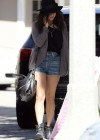 Vanessa Hudgens leggy candids Le Pain Quotiden Lovely