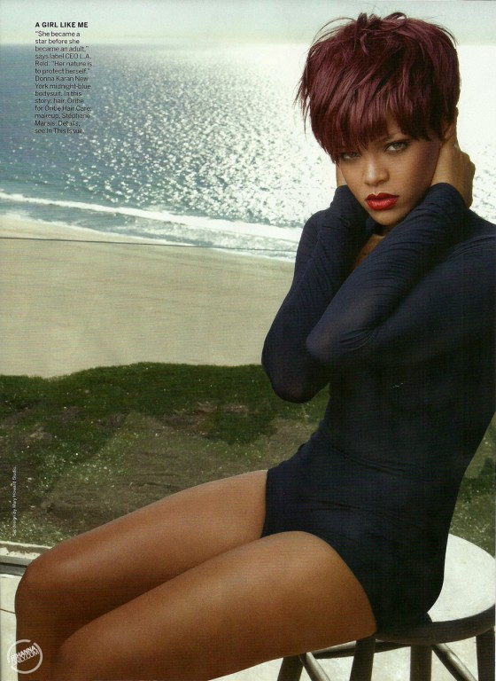rihanna 2011 april. Rihanna Vogue Magazine April