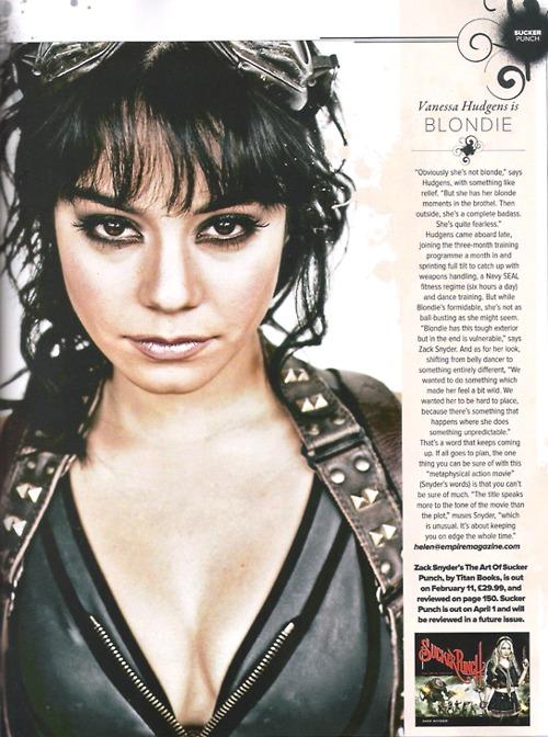 Vanessa Hudgens – Empire Magazine (March 2011)