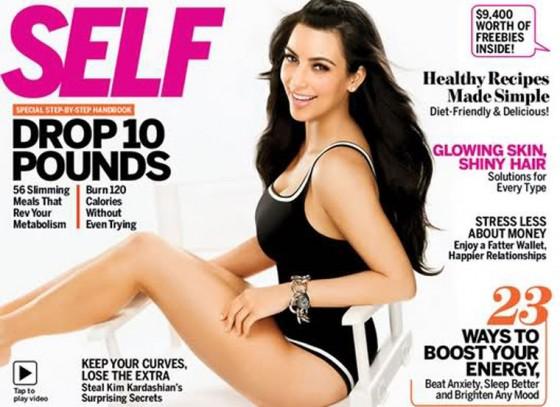 Kim Kardashian: Self Magazine Sexy