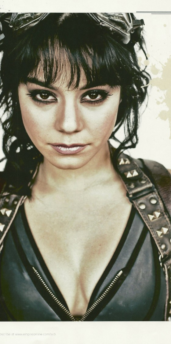 Vanessa Hudgens nice cleavage in Empire Magazine