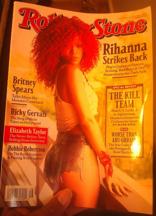 Rihanna – Rolling Stone Magazine cover (April 2011)