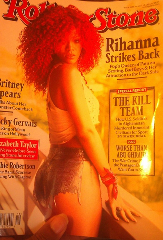 Rihanna - Rolling Stone Magazine cover (April 2011)