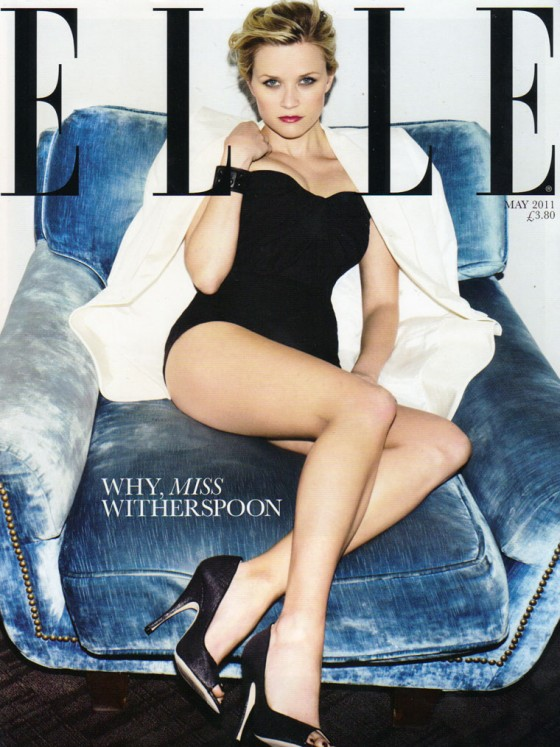 Reese Witherspoon - ELLE Magazine Cover UK (May 2011)