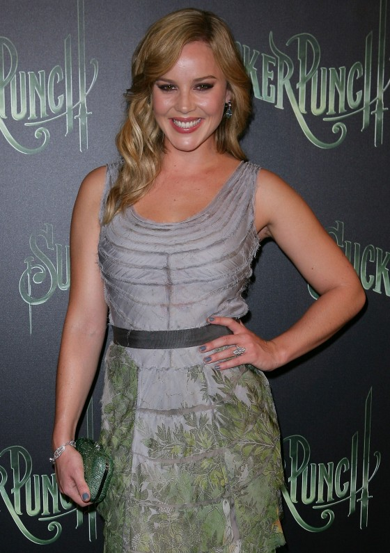 Abbie Cornish at Sucker Punch Premiere in Sydney