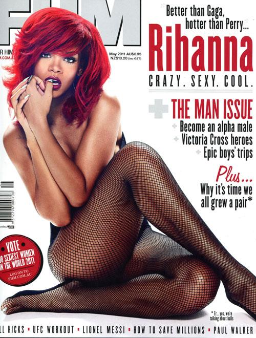 Rihanna – FHM Magazine Australia (May 2011) Cover (LQ)