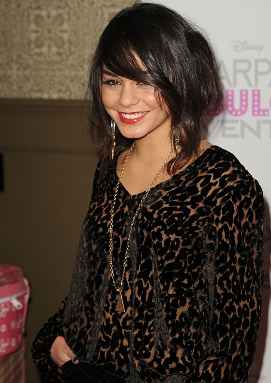 Vanessa Hudgens at Sharpay's Fabulous Adventure Premiere