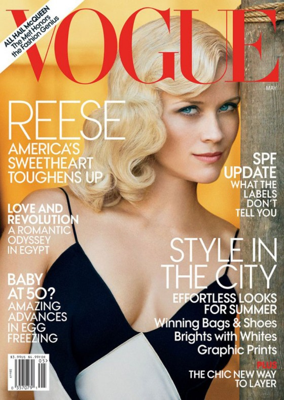 Reese Witherspoon for Vogue US Magazine (May 2011)