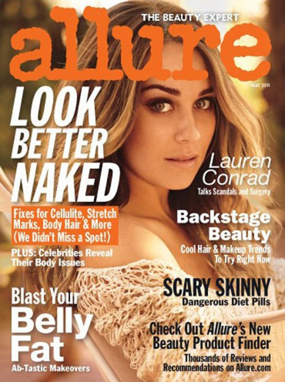 Lauren Conrad - Allure Magazine (May 2011)