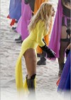 Beyonce - Music Video Shoot in Los Angeles