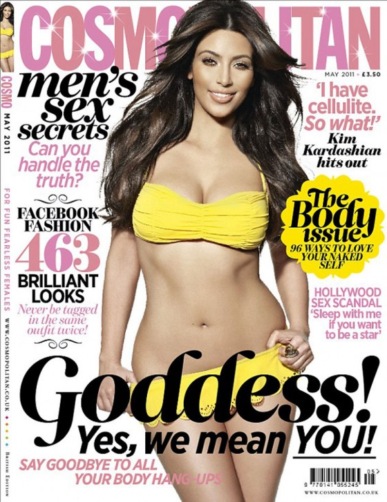 Kim Kardashian Cosmopolitan Magazine UK May 2011 Photoshoot