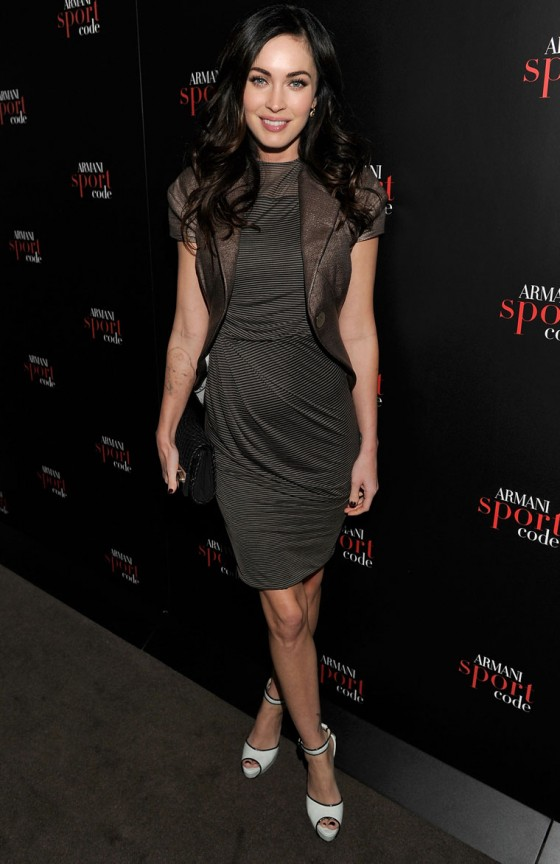 Megan Fox at Armani Code Sport Fragrance