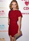 Scarlett Johansson at Childrens Defense Fund Cocktail Party