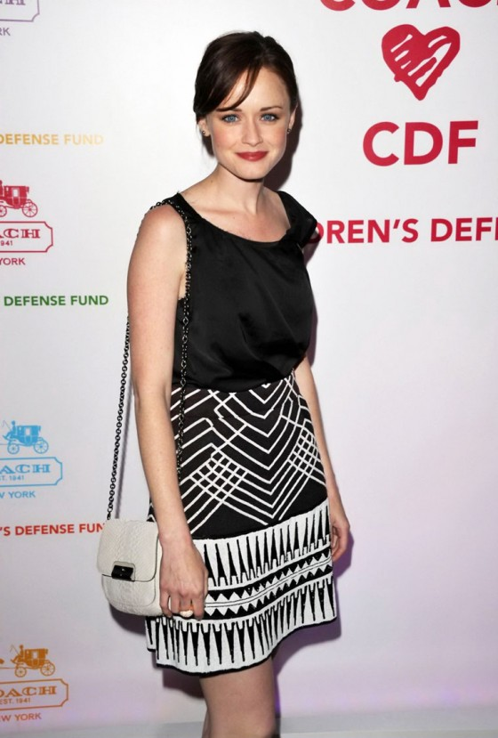 Alis Bledeexl at Childrens Defense Fund Cocktail Party