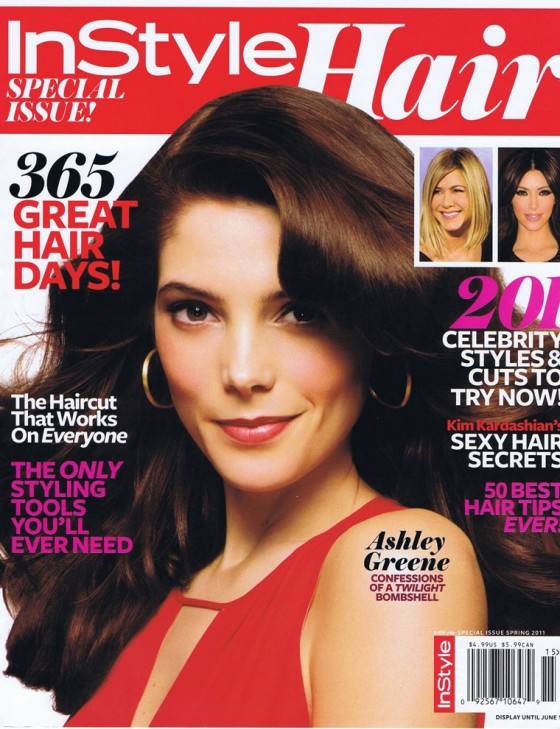 Ashley Greene - InStyle Hair Magazine (Spring 2011)